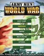 Постер к игре Army Men: World War